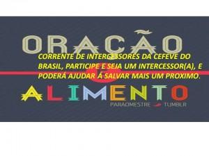 CORRENTE DE INTERCESSORES CEFEVE DO BRASIL